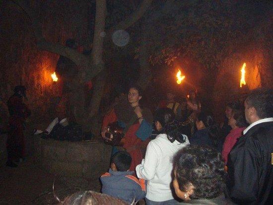 Hacienda Santa Maria Regla : RECORRIDO