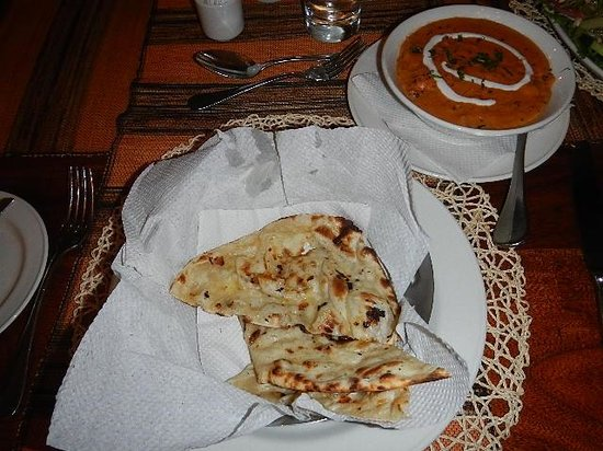 The African Tulip: Indian dish for dinner