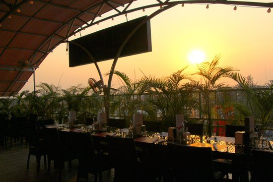 Abuja sunset on the terrace picture of the charcoal for The terrace bar and grill