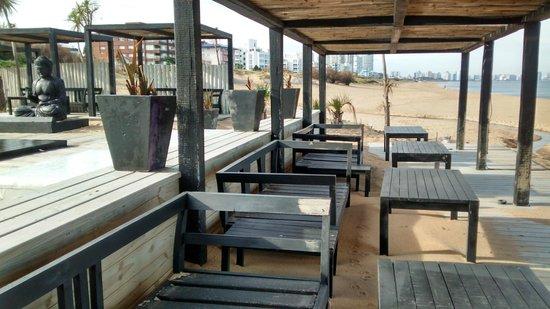 Serena Hotel Punta del Este: Vista de fora - area de lazer do hotel