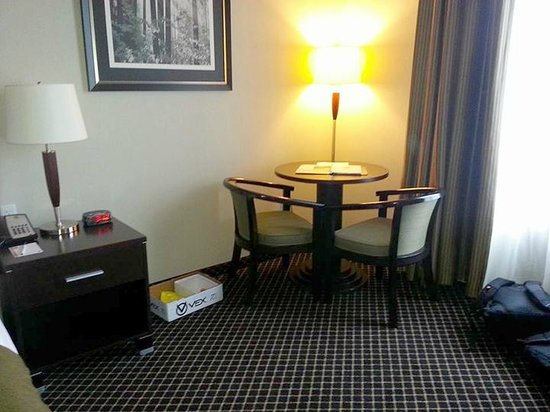 """Quality Inn & Suites: the """"dining"""" part of the room"""