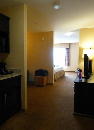 Holiday Inn Express Hotel & Suites Riverport: Junior Suite view from entrance door