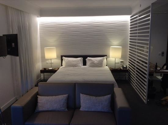 Olissippo Saldanha: vue du lit de la chambre