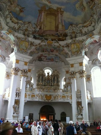 Wies Church: Interior