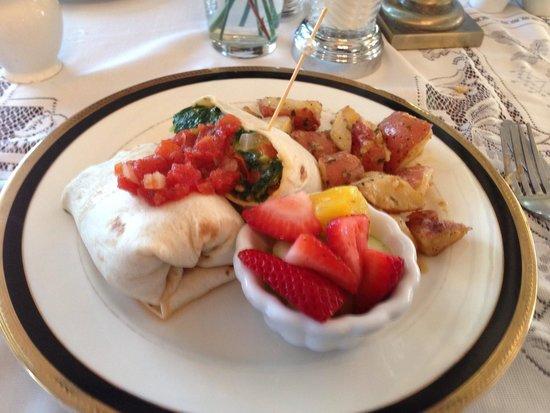 Kilmarnock Inn: Nice breakfast!