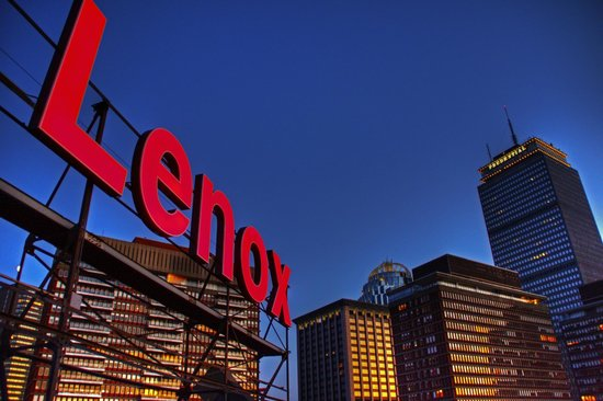 Lenox Hotel: Iconic Rooftop Sign