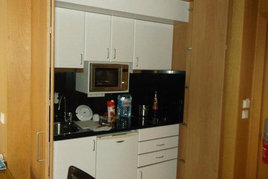 Golden Residence: мини кухня