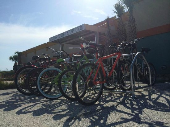 Ride down on your bikes and check out the Florida Beer Company Tap Room and Visitor Center!