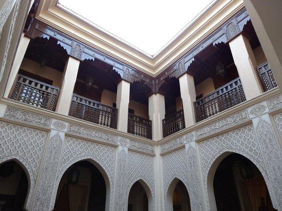 Riad Kniza Restaurant: Vue