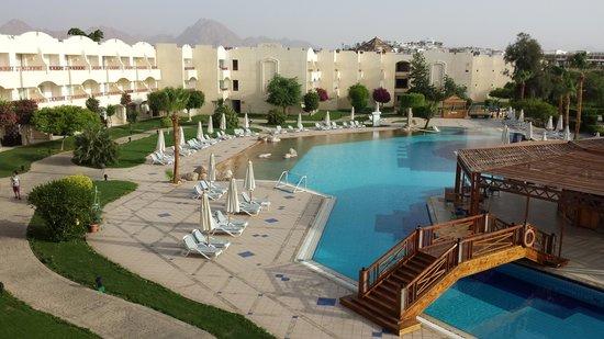 Sharm El Sheikh Marriott Resort : Pool view