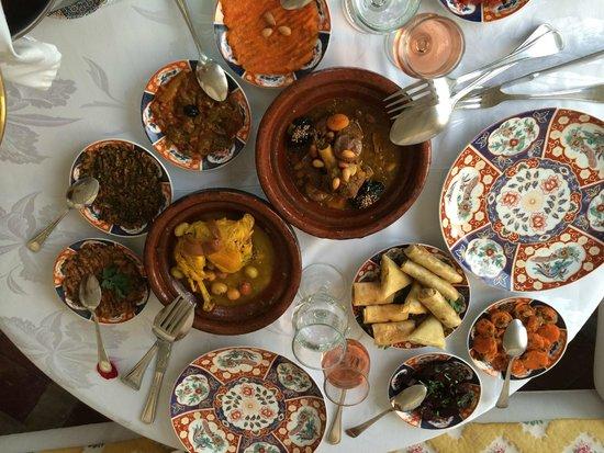 Riad Kniza Restaurant : Plats