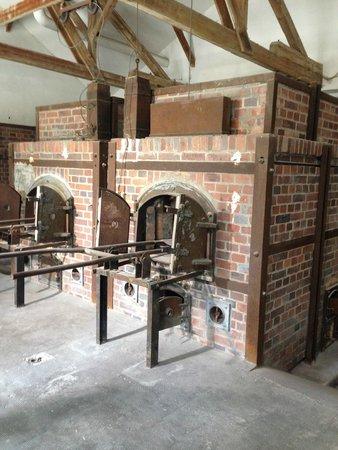 KZ-Gedenkstätte Dachau: ovens