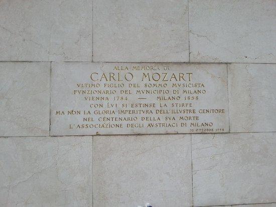Cimitero Monumentale: carlo mozart