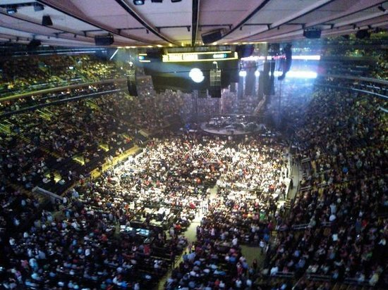 Billy Joel In Concert From One Of The Suites Picture Of Madison Square Garden New York City
