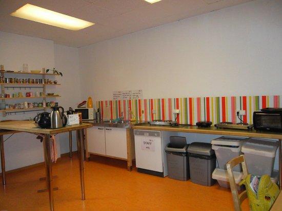 Steffi's Hostel Heidelberg: Кухня