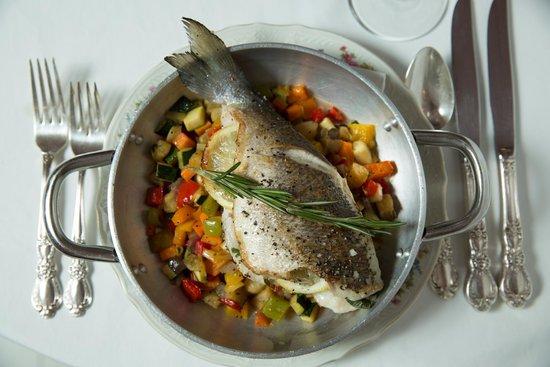 Eden Bistro : PROVINCIAL MULLET FISH