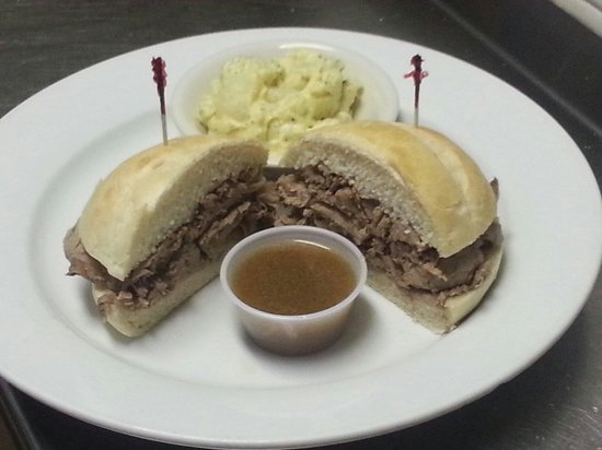 Our Place: Our famous Roast Beef Sandwich