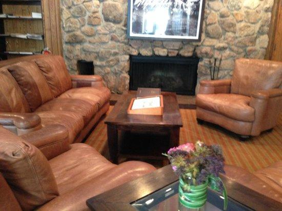 Molly Gibson Lodge: recieving area