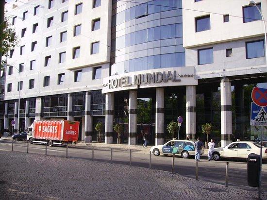 Hotel Mundial : Ingang