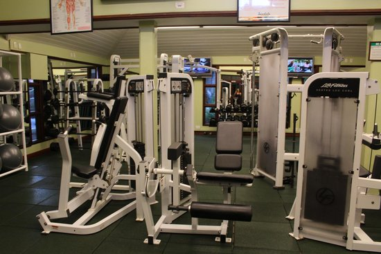 Sandals Regency La Toc: The gym was empty almost every single day of our trip....and it was such a great gym!