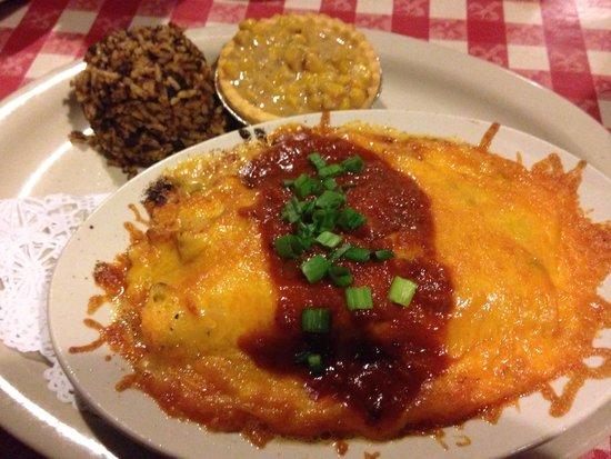 Prejean's : Crawfish Enchilada