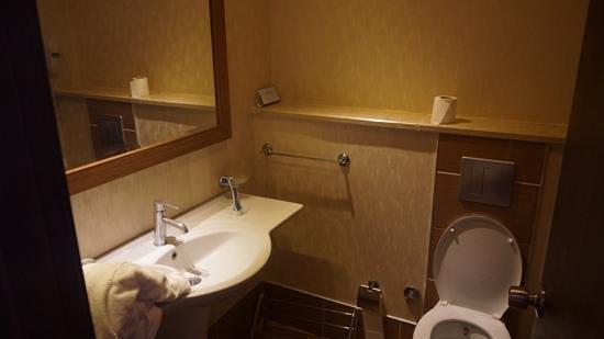 Justiniano Club Alanya: ванная комната, корпус Жасмин