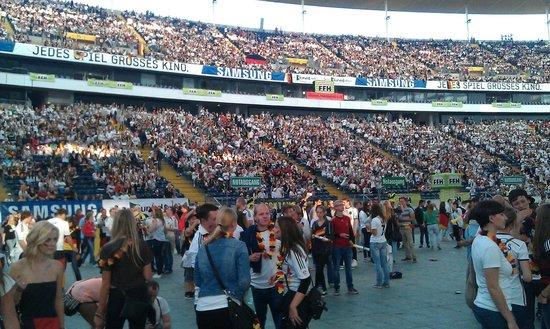 Commerzbank-Arena: Interior
