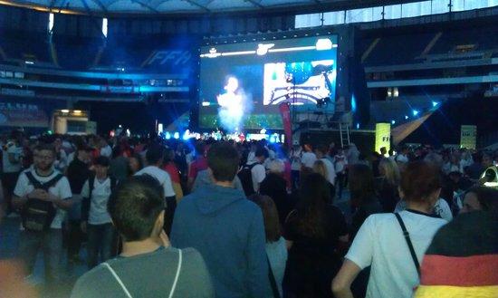 Commerzbank-Arena: Telão para Copa 2014