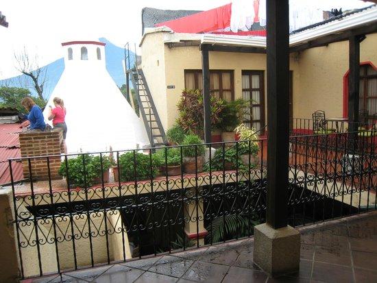 Posada Los Bucaros: 2nd level view
