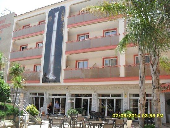 Sumus Hotel Monteplaya : отель