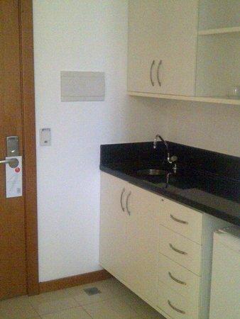 Iguatemi Business Flat: Habitacion kitchenet