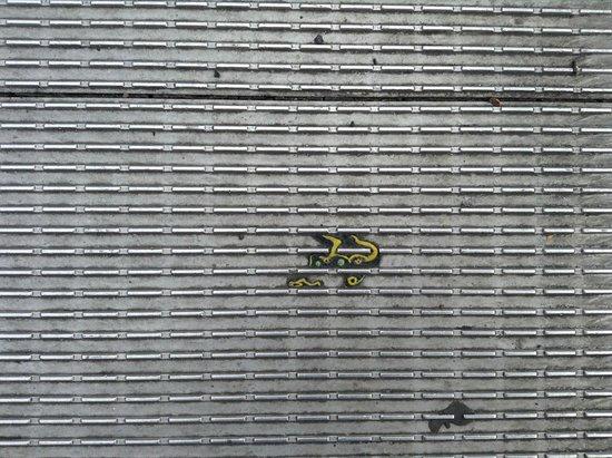 Millennium Bridge : piso del puente
