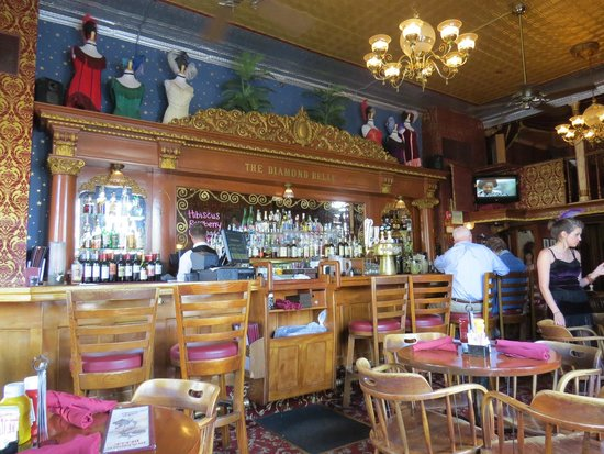 Diamond Belle Saloon: Great setting for a great meal