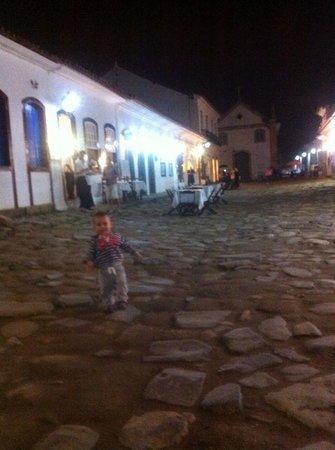 Pousada Porto Imperial: Pedrinho em Paraty