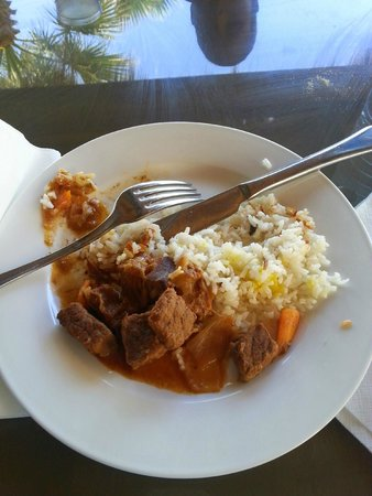 Vincci Marillia: Carne estufada... tão saborosa