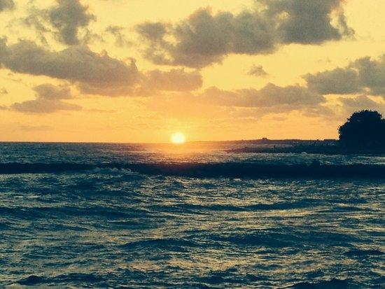 Louis Ledra Beach: Sunset at the louis ledra