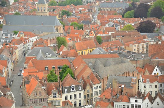 Belfort: View from the Belfry Tower