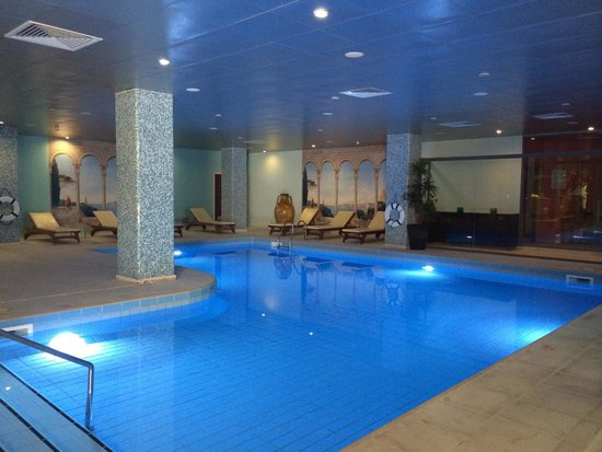 Hotel St. George: Indoor pool, quiet and relaxing