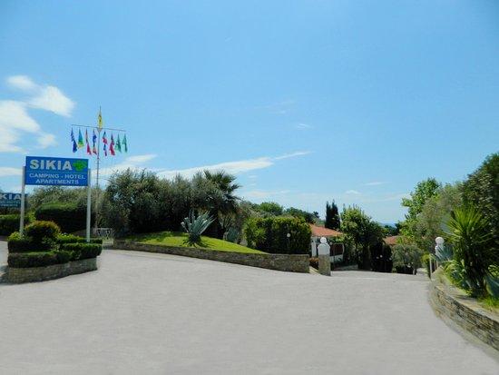 Kato Gatzea, กรีซ: Entrance