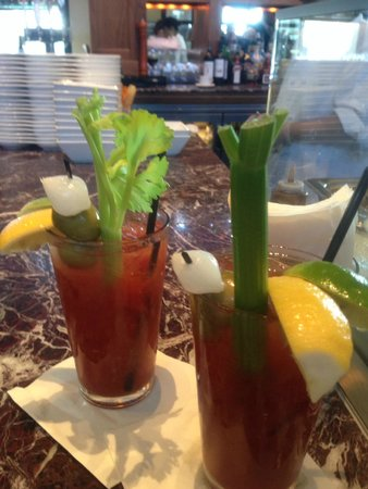 Bistro Boudin : Don't miss the amazing bloody Mary's (go with grey goose)