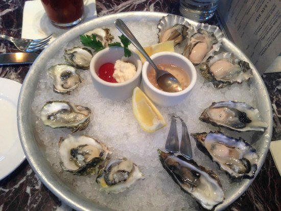 Bistro Boudin : Try all the different types of oysters you wont regret it