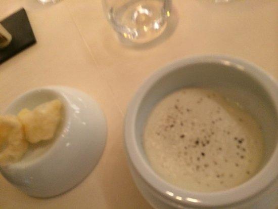 Metamorfosi Restaurant: Uovo e spume