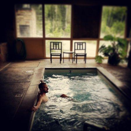 Cedar Breaks Lodge: Great spa