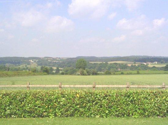 The Dinney: View from the front of Dinney Farm