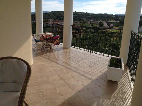 Zante Star: Balcony