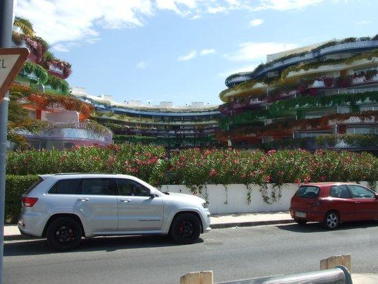 Puerto de Ibiza: Immeubles Jean Nouvel