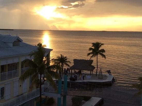 Key Largo Bay Marriott Beach Resort : Ausblick vom Zimmer