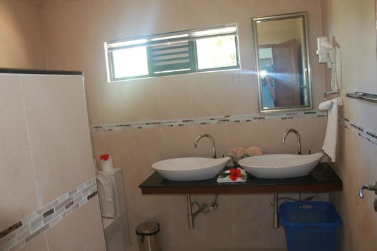 Le Duc de Praslin: salle de bain