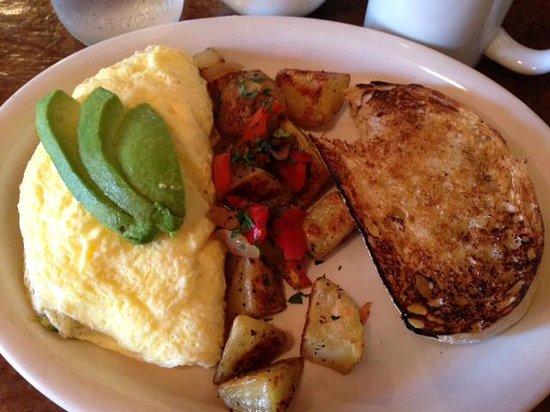 The Garnet Cafe: The Coeur D'Alene Omelette