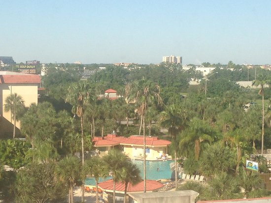International Palms Resort & Conference Center: Our view of the Pool